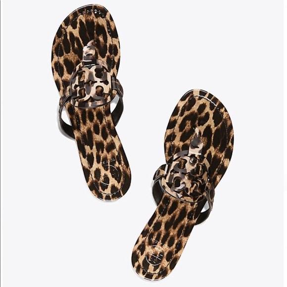 ac73f74875d Tory Burch    Miller Sandal in Leopard. M 5b883fc1dcfb5af29fb10c9d